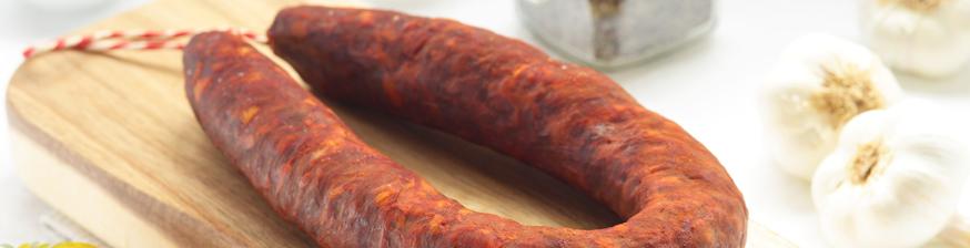 Chorizo artesano de León